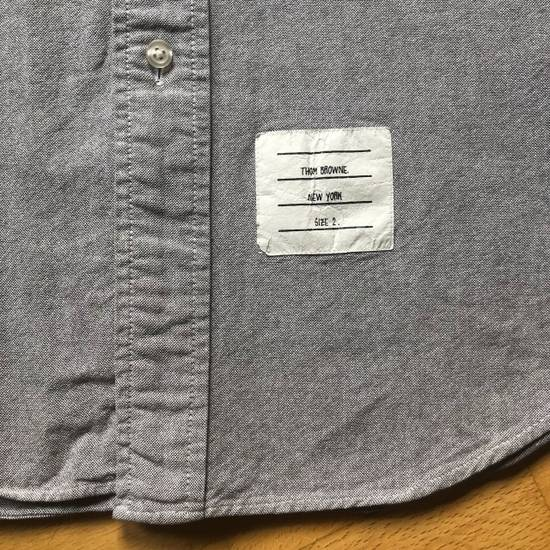 Thom Browne Oxford Classic Shirt Sz.2/M rare grey Size US M / EU 48-50 / 2 - 11