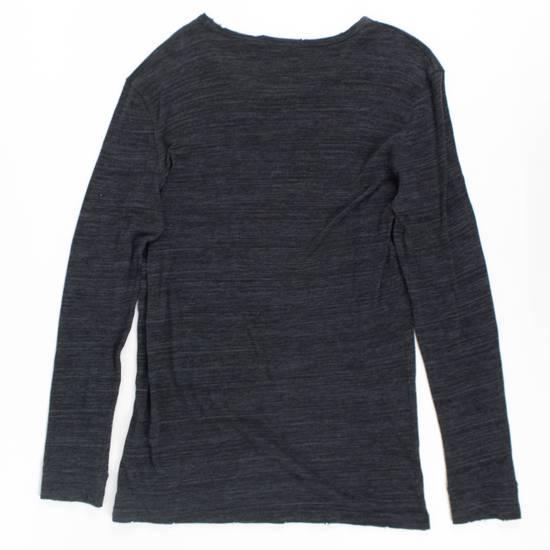 Balmain Gray Cotton Long Sleeve Crewneck T-Shirt Size XL Size US XL / EU 56 / 4 - 2
