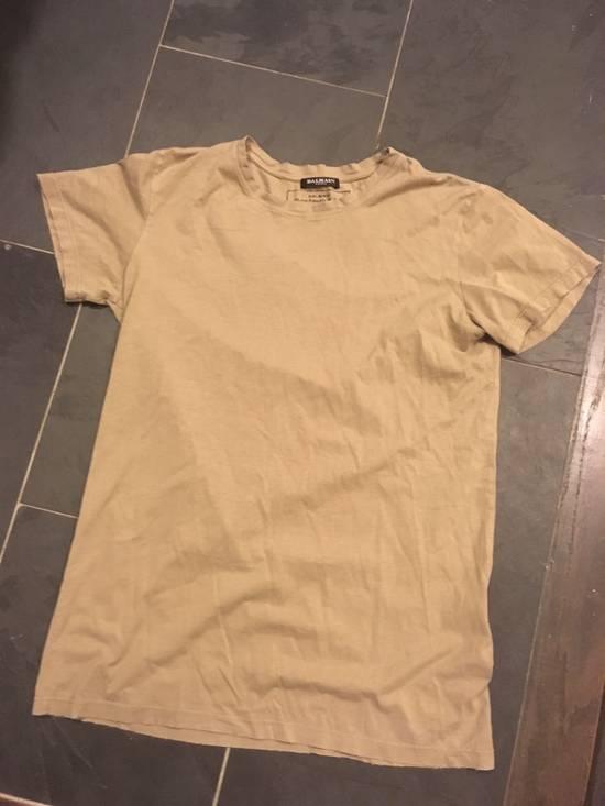 "Balmain Balmain Homme ss 2010 ""Distressed"" Decarnin Era T-Shirt Size US M / EU 48-50 / 2"