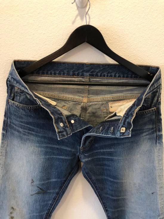 Balmain Distressed Jeans Blue Size US 31 - 6