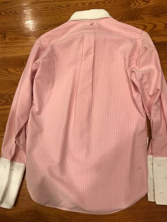 Thom Browne Pink French Cuff Shirt Size US S / EU 44-46 / 1 - 8