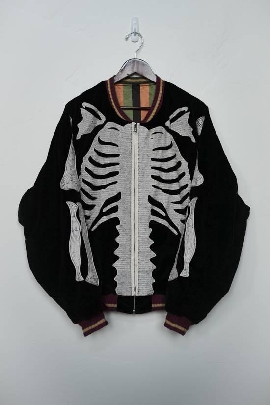 Kapital Reversible Skeleton Souvenir/Bomber Jacket Size US XL / EU 56 / 4