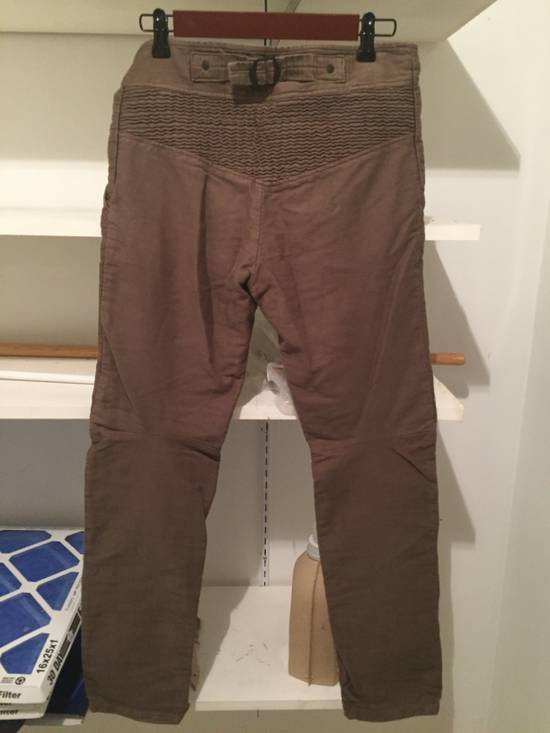 Julius Heavy Moleskin Trousers Size US 31 - 6