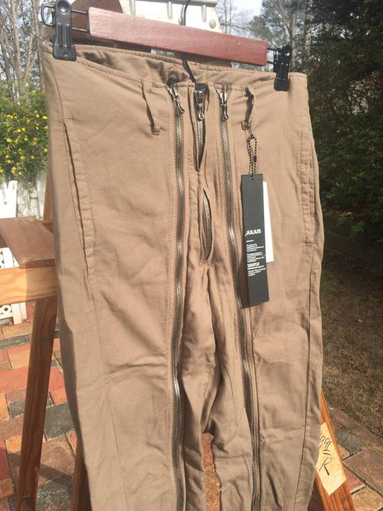 Julius SS10 Full Zip Narrow Flight Pants BNWT Size US 30 / EU 46 - 5