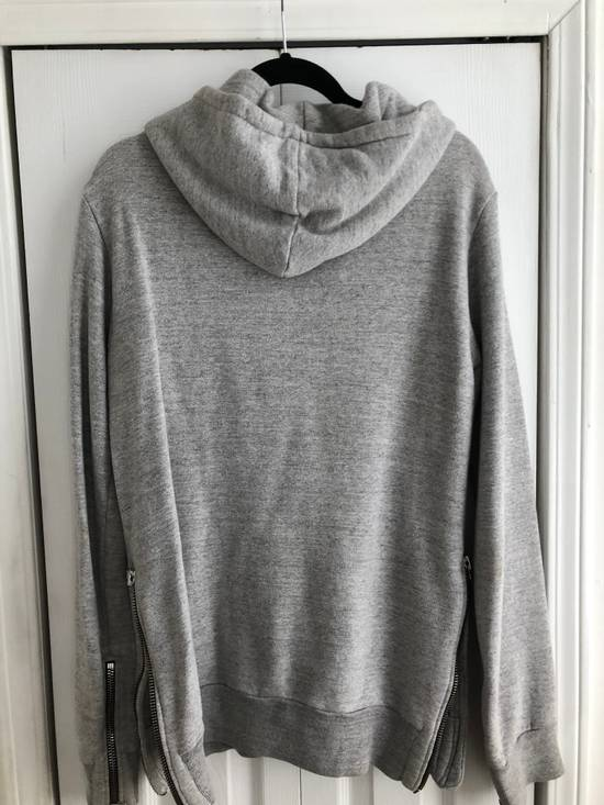 Balmain Zipped hoodie in grey Size US M / EU 48-50 / 2 - 4