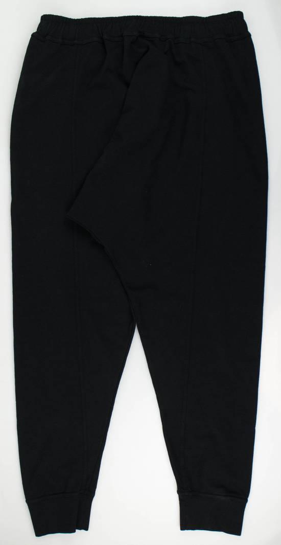 Balmain Men's Black Cotton Sarouel Jersey Pants Size Large Size US 36 / EU 52 - 1