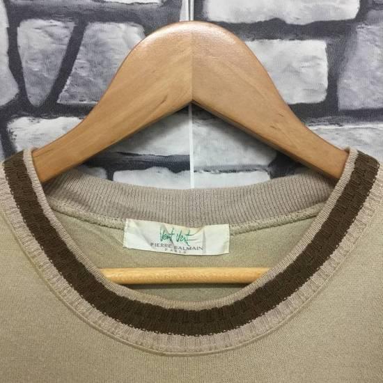 Balmain ⚡️Final Drop Got Delete Today⚡️Pierre Balmain Vent Vert Embroidered Spellout Sweatshirt Size US M / EU 48-50 / 2 - 4