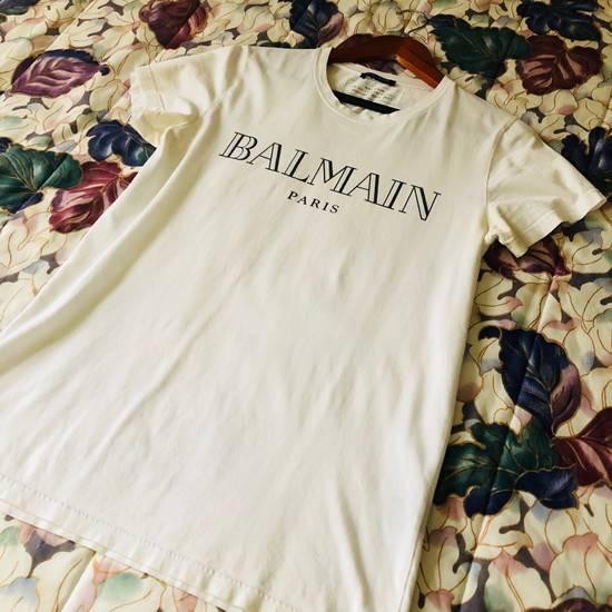 Balmain BALMAIN PARIS Vintage Logo T Shirt COMME DES VUITTON YSL Size US S / EU 44-46 / 1 - 2