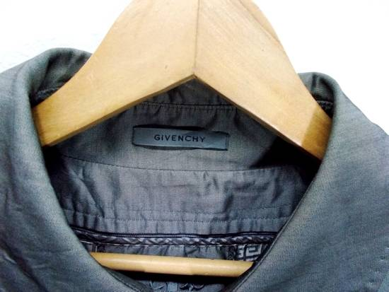 "Givenchy Final Drop..!! Luxury Brands Designer Givenchy Paris 2006. AW07 01-M 97334A Haris Gray Long Winter Trenchcoat L-24""x37"" Size US L / EU 52-54 / 3 - 3"