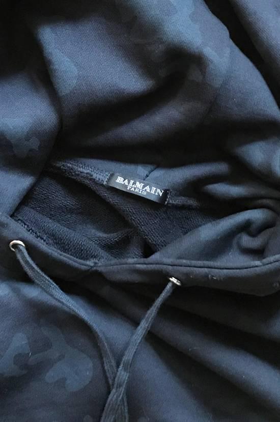 Balmain Black Camo Pattern Zip Hoodie Size US M / EU 48-50 / 2 - 3