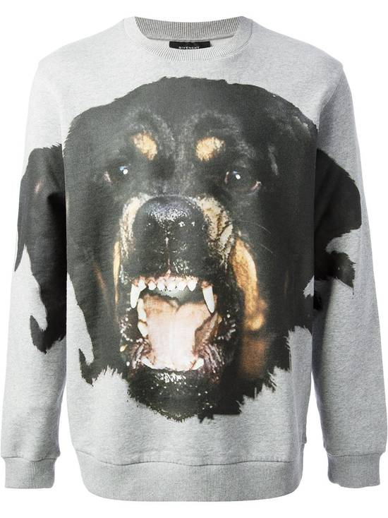 Givenchy Grey Rottweiler Print Sweater Size US XL / EU 56 / 4 - 1