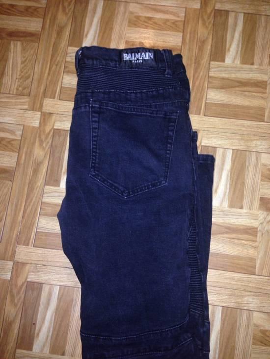 Balmain Black grey tint Balmain Jeans Size US 34 / EU 50 - 2