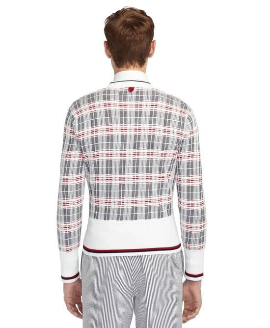 Thom Browne Plaid Striped Cardigan Size 0 NEW Size US XS / EU 42 / 0 - 1