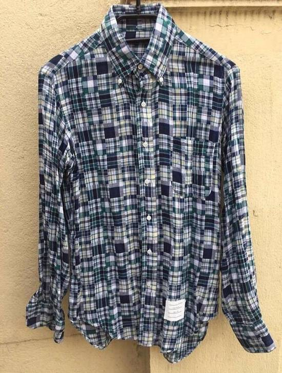 Thom Browne LAST DROP ! Patchwork Madras Shirt Size US S / EU 44-46 / 1