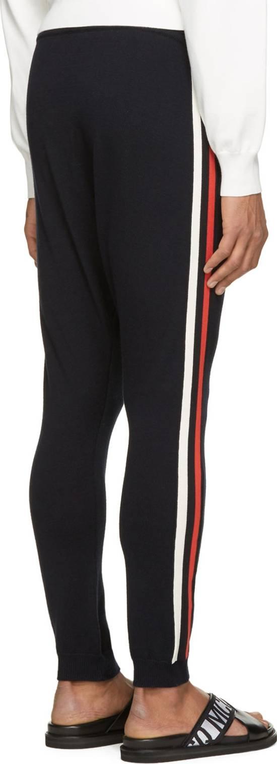 Balmain Balmain Navy Knit Harem Lounge Pants Size US 30 / EU 46 - 3