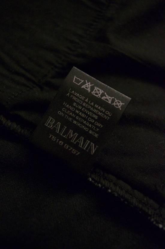 Balmain Rare Moleskin Ribbed Biker Trousers Size US 34 / EU 50 - 4