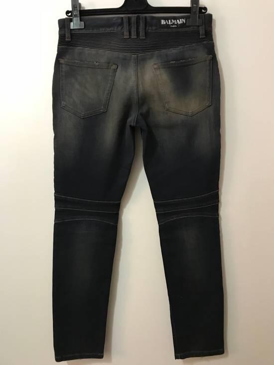 Balmain PRICED TO SELL!! Size 30 Blue Biker Jeans Balmain Size US 30 / EU 46 - 3