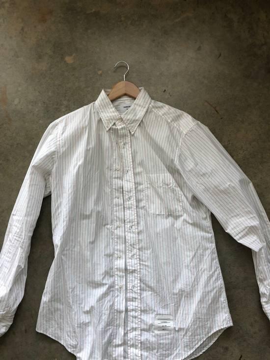 Thom Browne Striped Button Up Size US L / EU 52-54 / 3