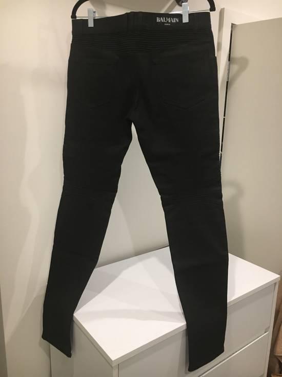 Balmain Black Biker Jeans NWT Size US 32 / EU 48 - 2