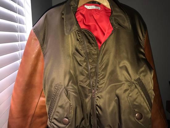 Givenchy Givenchy Auburn/Olive Leather Bomber W Red Satin Inside Size US M / EU 48-50 / 2 - 1