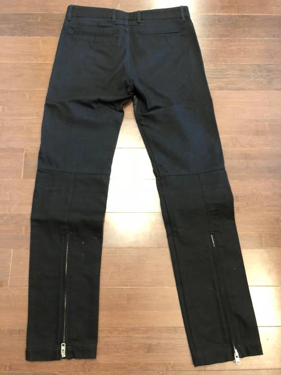 Givenchy Givenchy Leather Panel Black Jeans Size US 30 / EU 46 - 3