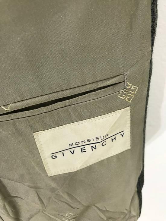 Givenchy Monsieur Givenchy Wool Blazer Tartan Plaid Vintage Size 44R - 6
