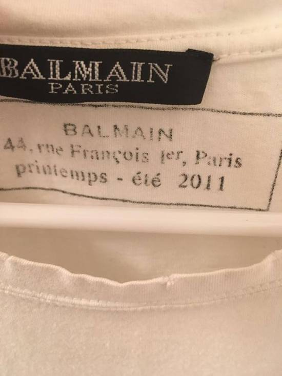 Balmain Balmain Basic Tee White 2011 Size US M / EU 48-50 / 2 - 1