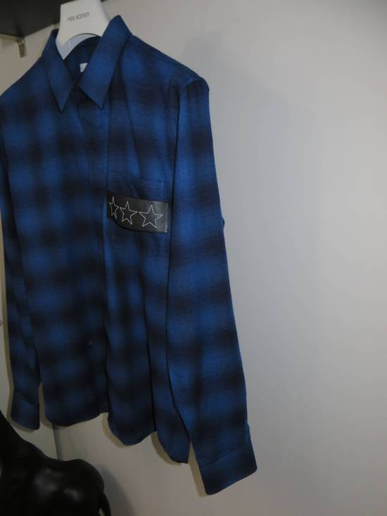 Givenchy Embroidered flannel shirt Size US XL / EU 56 / 4 - 3