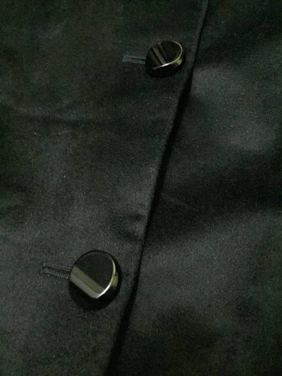 Balmain HARDCORE RARE!!! PIERRE BALMAIN BLACK TRENCH COAT WOOL (EXCELLENT CONDITION) Size US L / EU 52-54 / 3 - 4