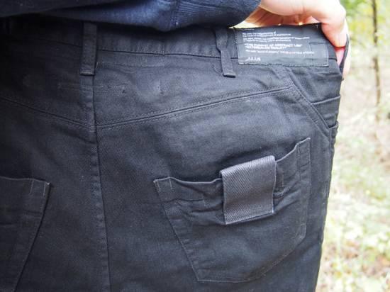 Julius Glitch 9oz Black Denim Size US 34 / EU 50 - 4