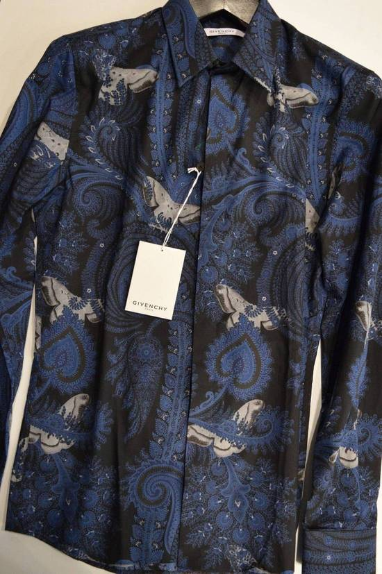 Givenchy Givenchy Authentic $750 Floral Navy Shirt Size 40 Brand New With Tags Size US L / EU 52-54 / 3 - 1