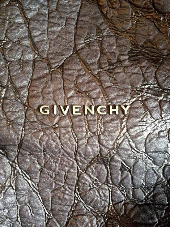 Givenchy 2011S/S Limited Edition Black Leopard Pandora Medium Shoulder Bag Size ONE SIZE - 4