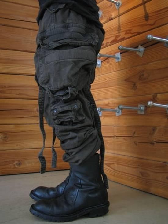 Julius Green Denim Gas Mask Cargo Pants s/s 13 Size US 31 - 14