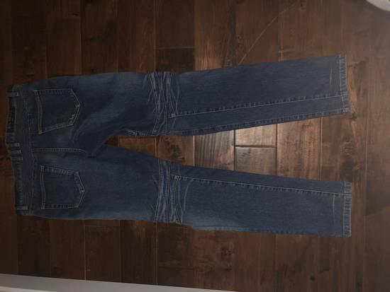 Balmain Balmain Navy Distressed Biker Jeans Size US 34 / EU 50 - 5