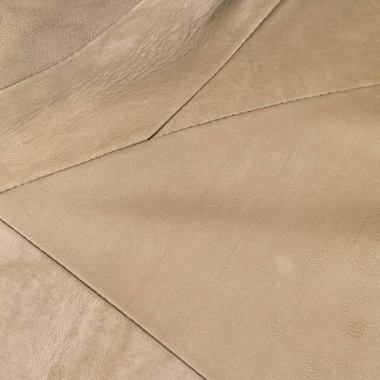 Julius 7 Men's Brown Lamb Skin Leather Zip-Up Jacket Size 3/M Size US M / EU 48-50 / 2 - 6