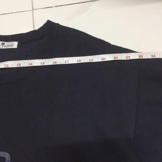 Balmain ⚡️Final Drop⚡️Pierre Balmain Embroidered Spellout Sweatshirt Size US L / EU 52-54 / 3 - 6