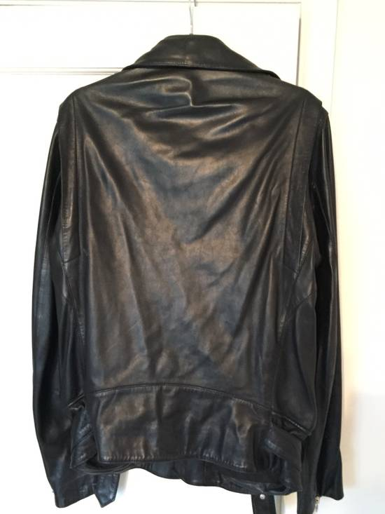 Balmain Rare Decarnin - Era Balmain Lamb Skin Leather Perfecto Size US L / EU 52-54 / 3 - 7