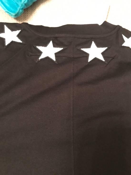 Givenchy Columbian-Fit Star-Appliqué T-Shirt, Black Size US M / EU 48-50 / 2 - 8