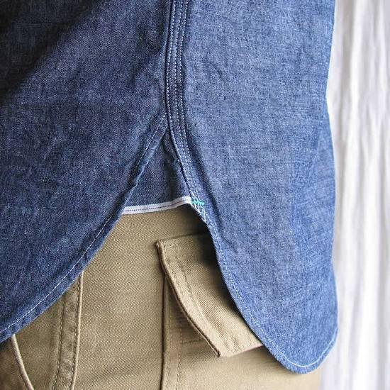Nigel Cabourn chambray medical shirt Size US L / EU 52-54 / 3 - 5