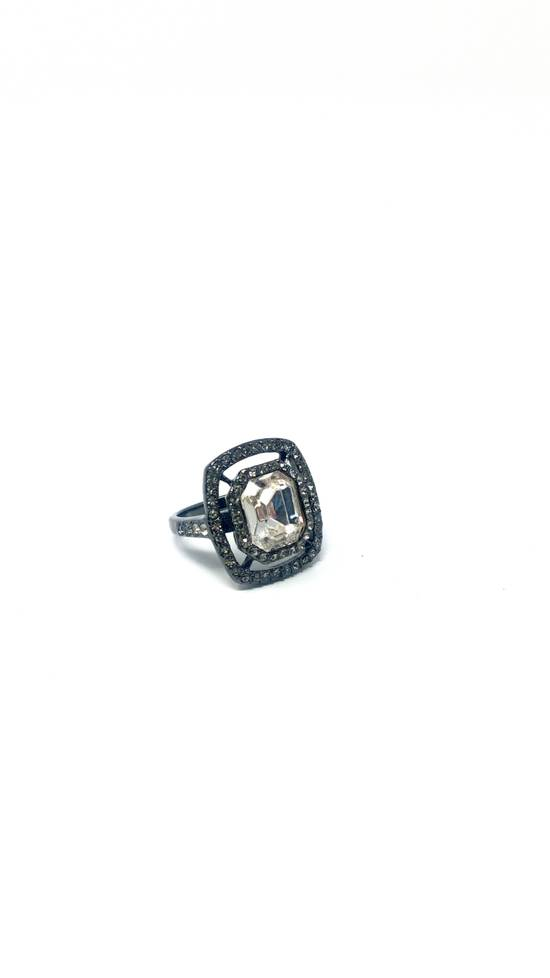 Givenchy Gunmetal ring size 8 Size ONE SIZE - 1
