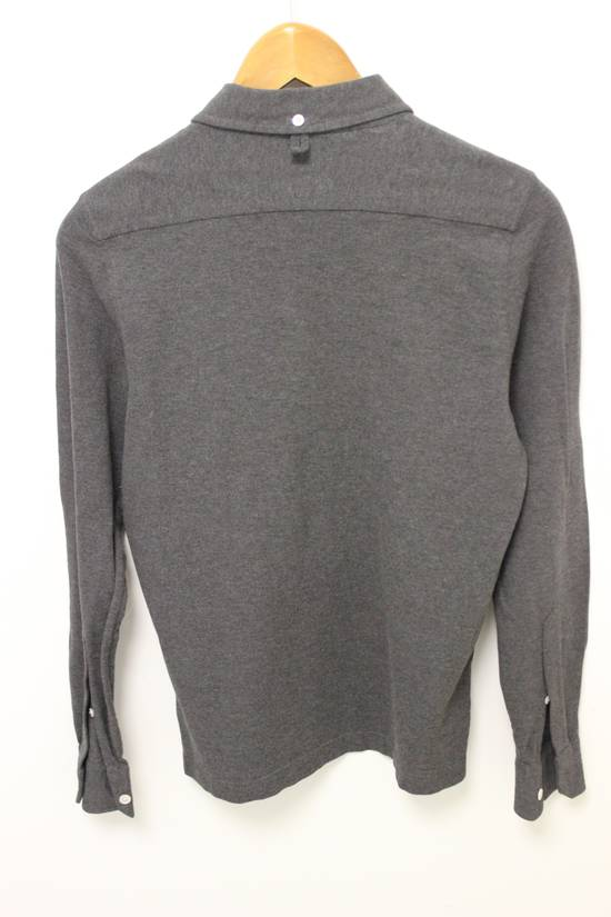 Thom Browne BB0 Long Sleeve Gray Polo Shirt Size US XS / EU 42 / 0 - 4