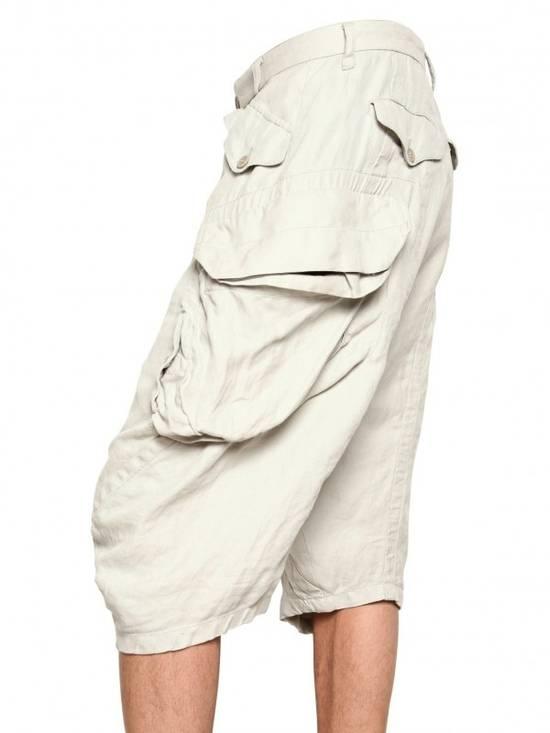 Julius Gas Mask Cargo Shorts White Bamboo Twill ss12 Size US 30 / EU 46 - 8