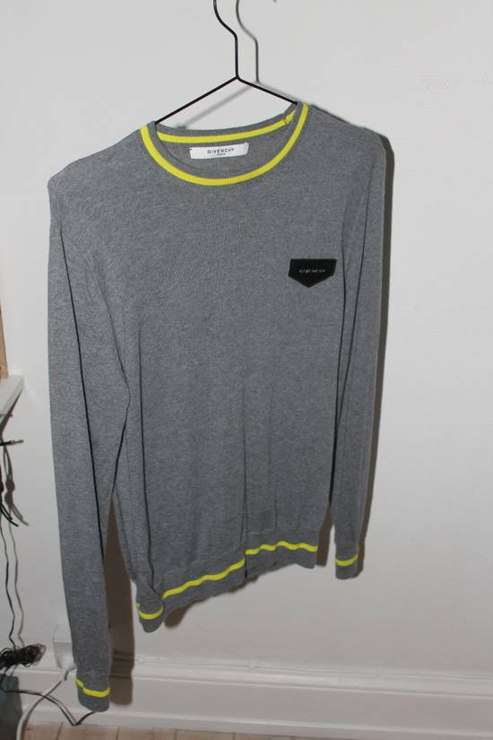 Givenchy Givenchy neon yellow and grey knitwear Size US S / EU 44-46 / 1