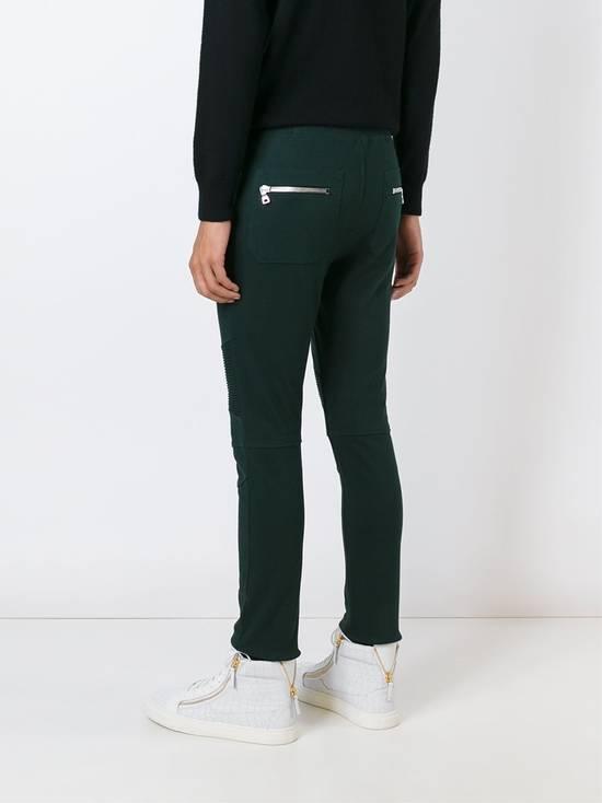 Balmain Balmain Green Sweatpants Size US 34 / EU 50 - 3