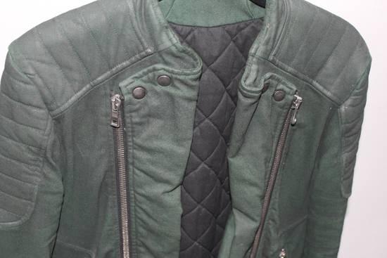 Balmain Forrest Green Biker Jacket sz S Size US S / EU 44-46 / 1 - 1