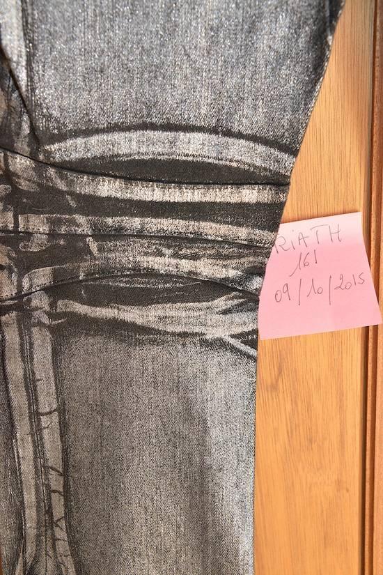 Balmain Silver stretch cropped pants Size US 33 - 12