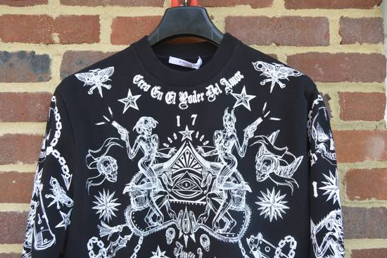 Givenchy Tattoo Print Sweater Size US L / EU 52-54 / 3 - 3