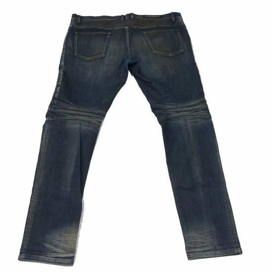 Balmain Balmain Mens Distressed Biker Moto Jeans Sz. 34 T551 C306 Size US 34 / EU 50 - 1