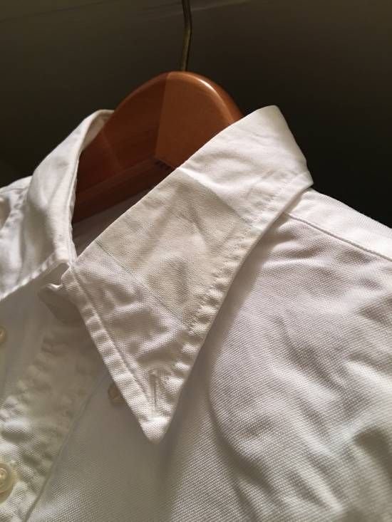Thom Browne White Oxford with Painted collar detail - 2 Size US M / EU 48-50 / 2 - 6