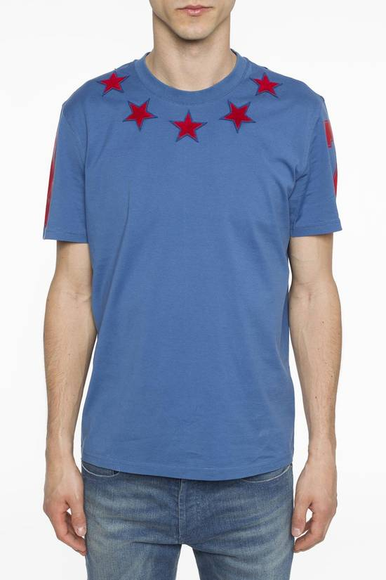 Givenchy Blue and Red 5 stars T-shirt Size US L / EU 52-54 / 3 - 2